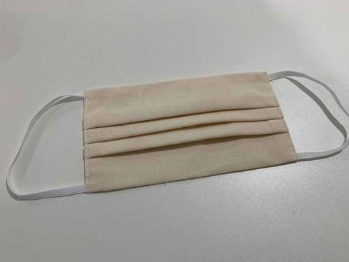 kit com 10 máscaras proteção dupla camada de tecido