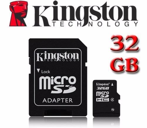 kit com 10 micro sd 32gb kingston classe10 45mbs original
