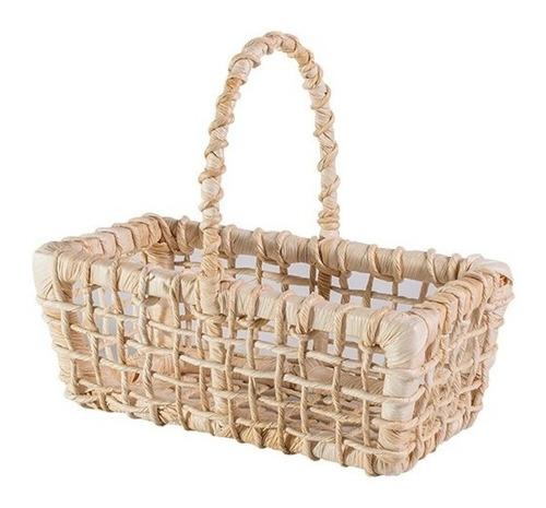 kit com 10 - mini cesta piquenique lembrancinhas 22x14x08