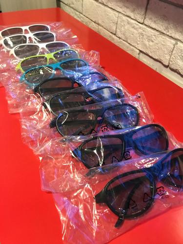 kit com 10 óculos cinema 3d lg passivo
