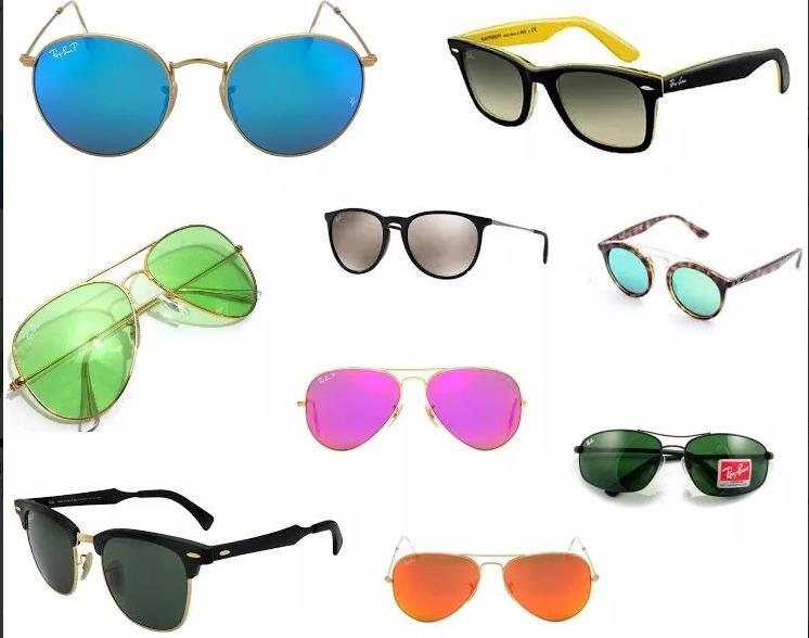 cd030bf522ef4 kit com 10 oculos de sol raibban femininos atacado revenda