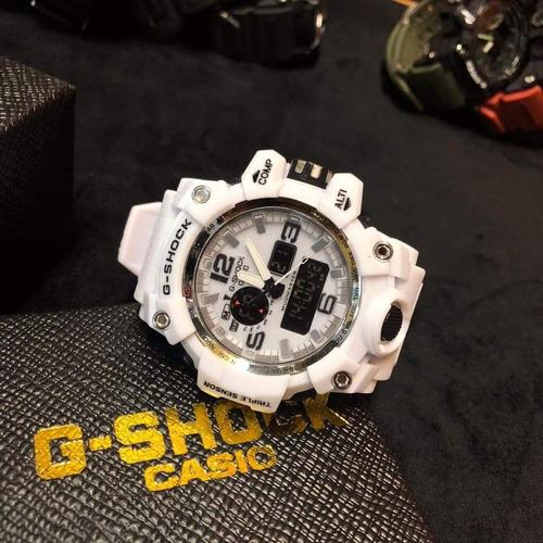 kit com 10 peças g-shock mudmaster sem caixa.