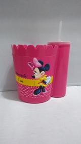 29c84f9b555fec Kit Com 10 Pipofri Balde De Pipoca + Copo Minnie Rosa