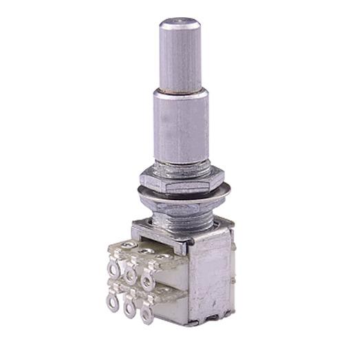 kit com 10 potenciômetro duplo concêntrico b500k alpha made in korea