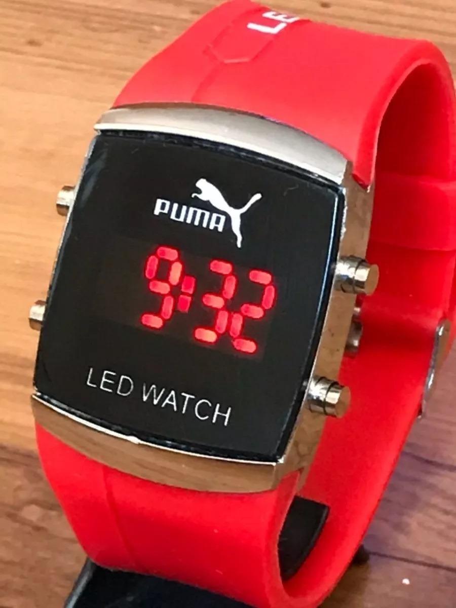 c2ffba27f8e kit com 10 relógios led digital unisex + caixa menor preço. Carregando zoom.