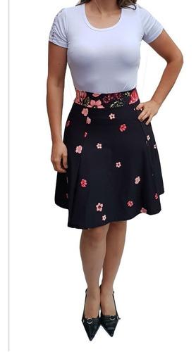 kit com 10 saias gode feminina midi evangélica barato saias