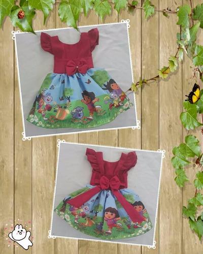kit com 10 vestidos temáticos
