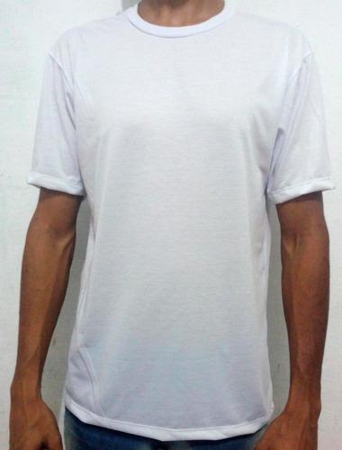 kit com 100 camisetas brancas lisas para sublimação atacado!