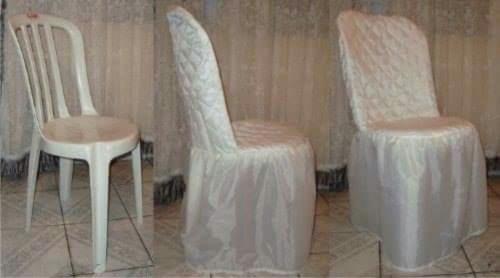 kit com 100 capas de cadeira em matelasse.