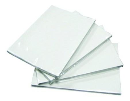 kit com 100 folhas  papel fotográfico 180gr glossy paper