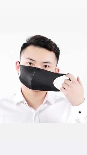 kit com 100 máscara de proteção lavável neoprene