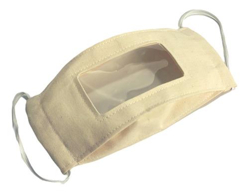 kit com 100 máscaras de proteção acessível com visor