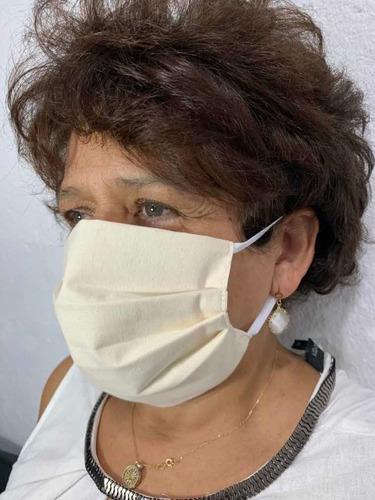 kit com 1.000 máscaras de proteção reutilizável dupla camada