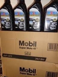 kit com 12 litros de óleos mobil 20w 50