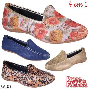 5696034ff7 Roupas Femininas Airu Feminino Sapatilhas - Sapatos Sociais e ...