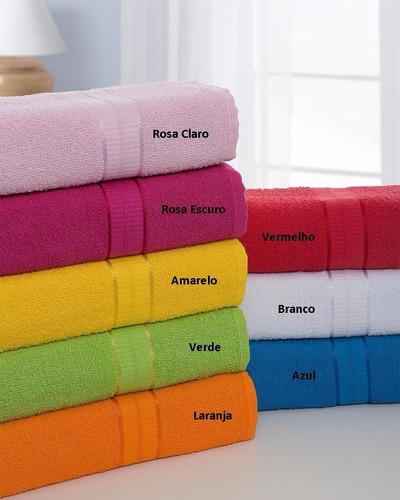 kit com 12 toalhas de banho agata kgd (atacado)