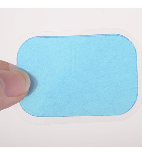kit com 13 gel adesivos cola para tonificador muscular  fita