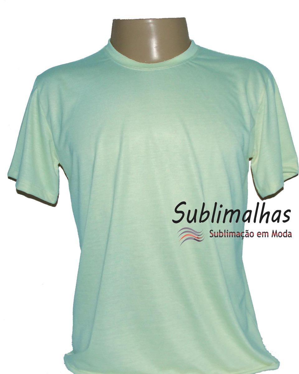 80491fbc51 Kit Com 15 Camisas Para Sublimação Colorida- 100% Poliéster - R  127 ...
