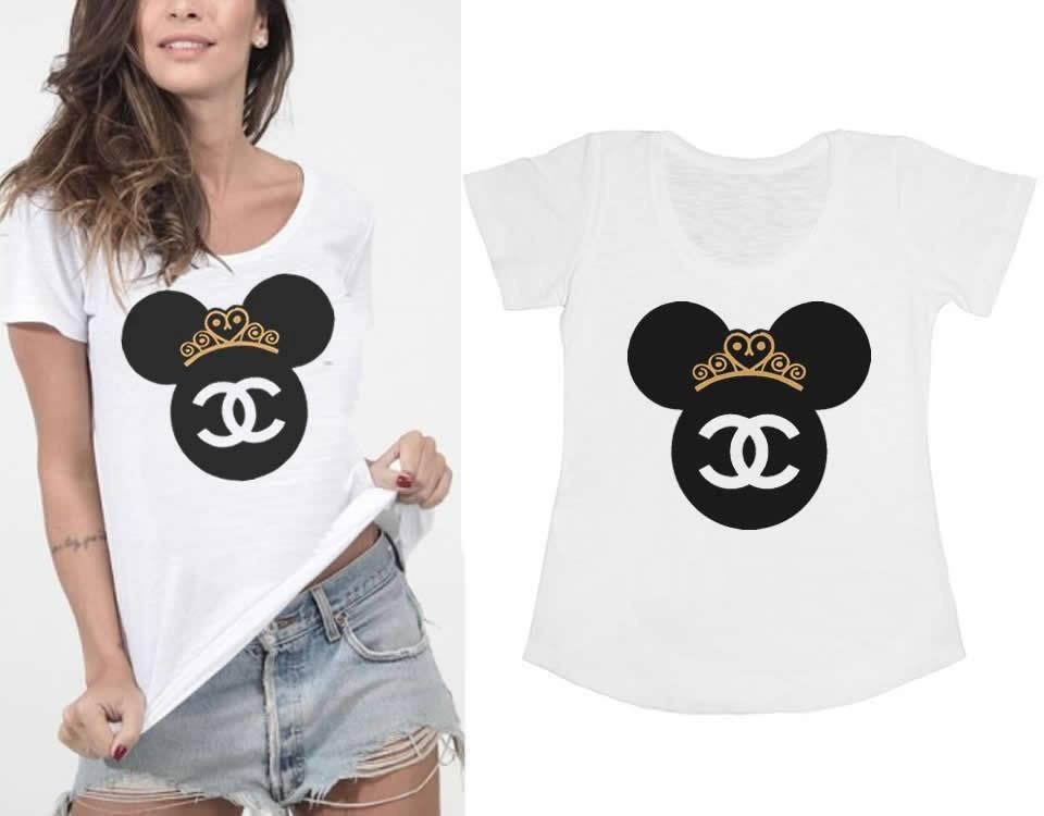 3e220d9651d9d Kit Com 15 T-shirts Femininas Personalizadas - Atacado - R  374