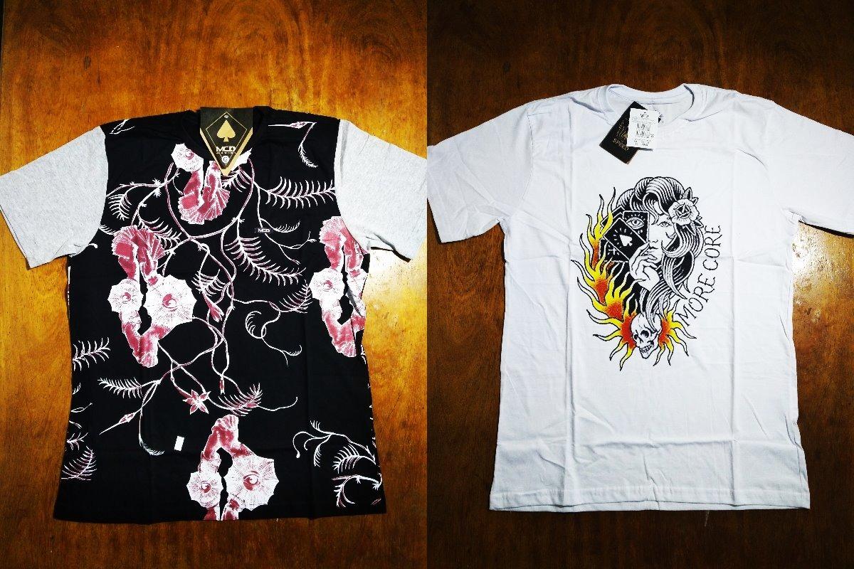 Kit Com 2 Camisas Camisetas Mcd Masculinas Surf 0.16.4 - R  99 7d1bd82f23e