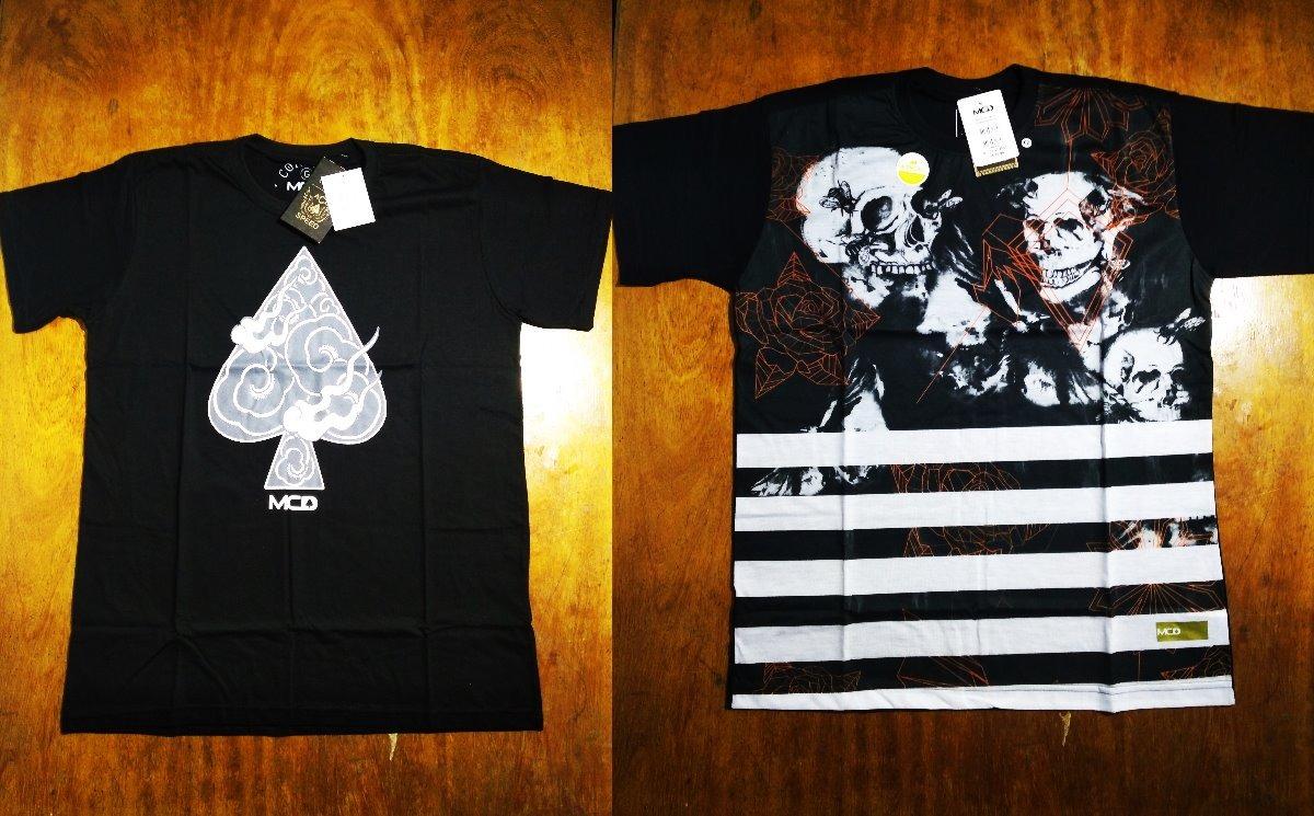 e1e068df6350d Kit Com 2 Camisas Camisetas Mcd Masculinas Surf 0.3.3 - R  99