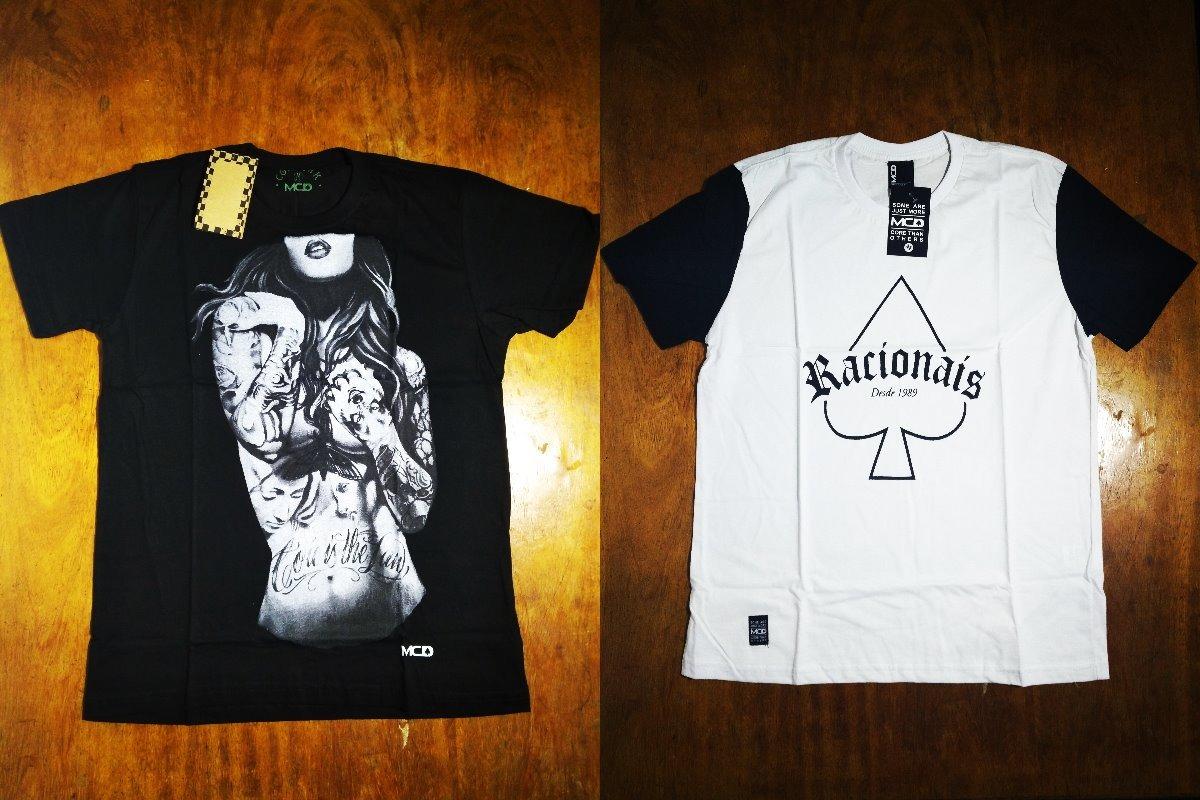 Kit Com 2 Camisas Camisetas Mcd Masculinas Surf 2.3 - R  99 cb9fa10fdde