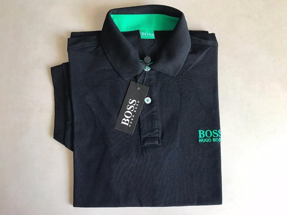 Kit Com 2 Camisas Polo Hugo Boss 1 Branca + 1 Azul + Frete - R  149 ... 026f70983bc8e