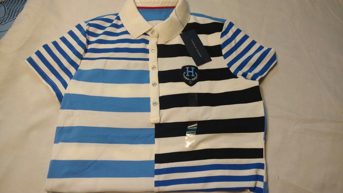 Kit Com 2 Camisas Polo Tommy Hilfiger Tam M g Feminina Nova - R  189 ... 845c07364f376