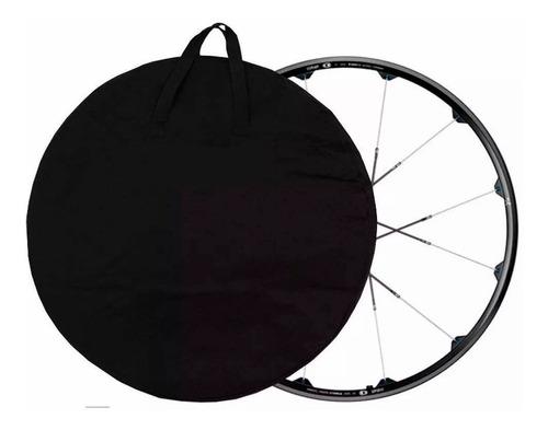 kit com 2 capas de roda bike - mala roda bicicleta