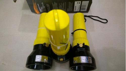 kit com 2 lanternas anti explosao