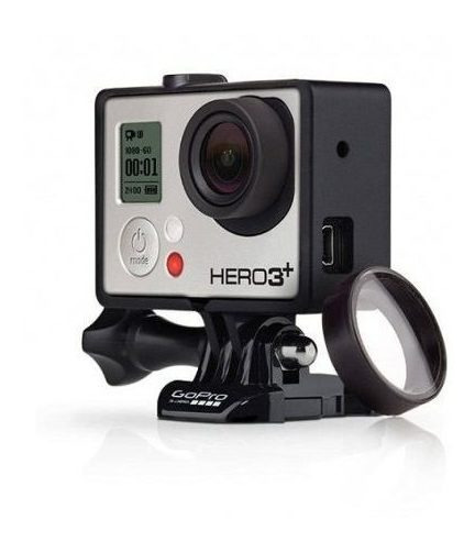 kit com 2 lentes protetoras gopro agclk-301 hero 3+ e hero