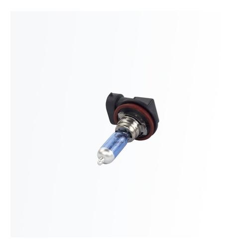 kit com 2 lâmpadas halógenas h11 - ultra branca