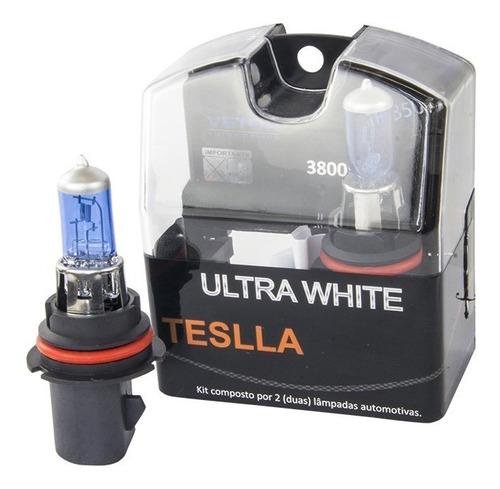 kit com 2 lâmpadas halógenas hb5 - ultra branca