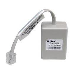 kit com 2 micro filtros d-link, cabo de rede e cabo adsl