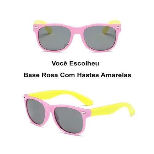 Kit Com 2 Óculos Flexíveis Polarizados Uv400 + 2 Brindes - R  110,00 ... b8843c1f3e