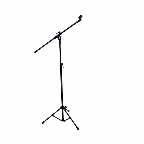 kit com 2 pedestal p/ microfone pmv-01 c/ cachimbo - vector