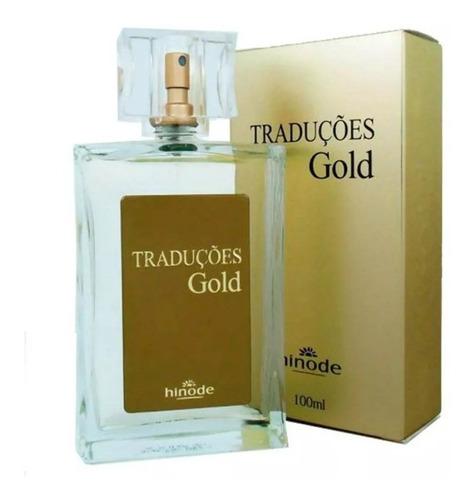 kit com 2 perfume hinode traduções gold ( produto novo)