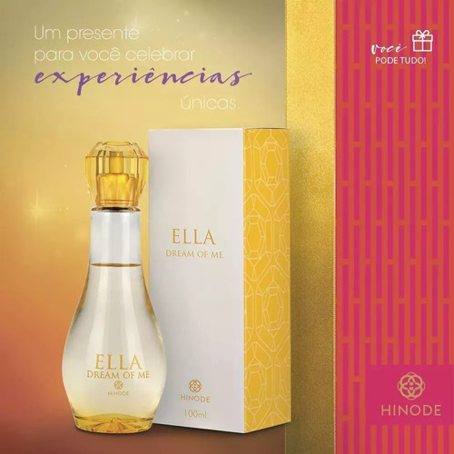 kit com 2 perfumes feminino dream of me hinode