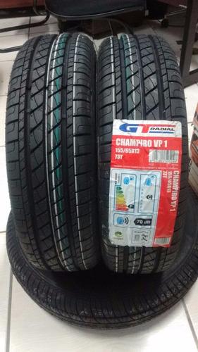 kit com 2 pneus 155/65 r13 gt radial vp1 73t chery qq