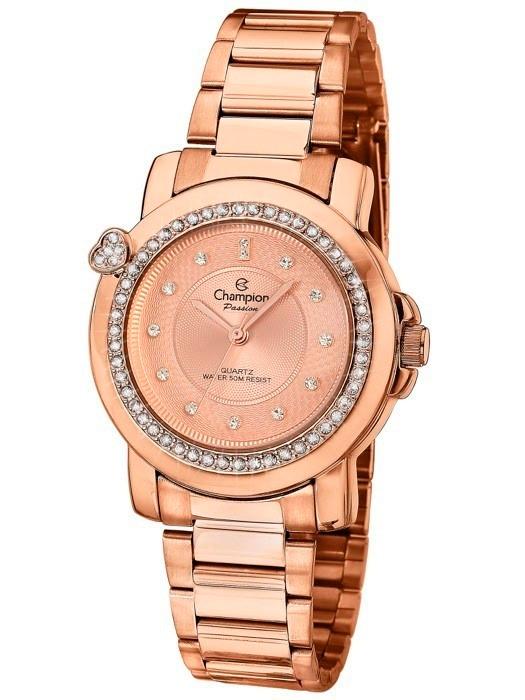 3841f4196fa Kit Com 2 Relógio Feminino Champion Passion Cn29141x Rose - R ...