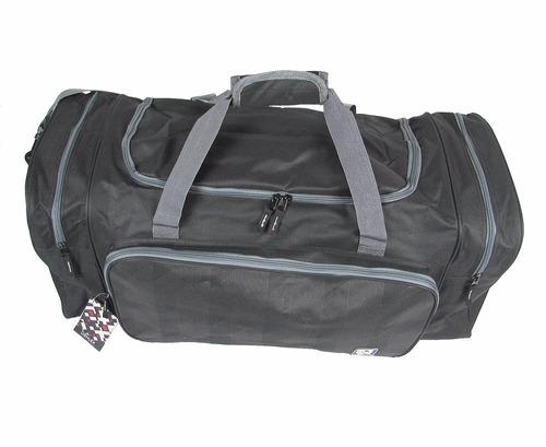 kit com 2 sacolas / mala de viagem denlex -  sa0025