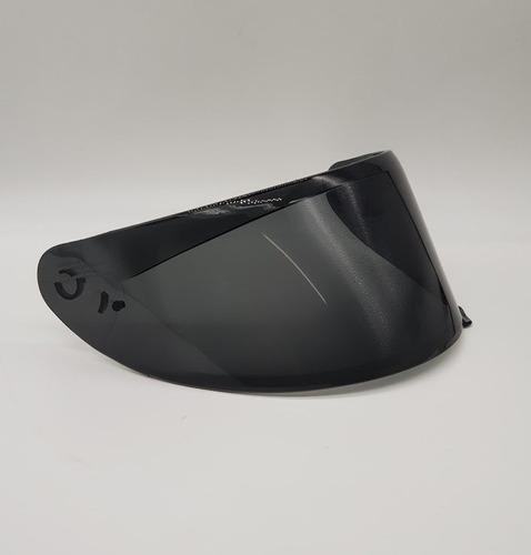 kit com 2 viseiras fume para capacete axxis eagle e draken