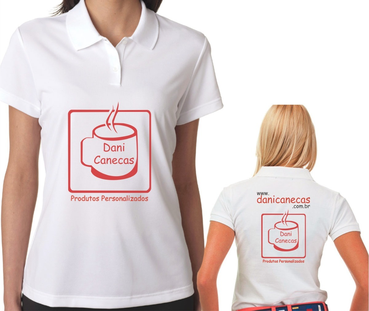 b71239f1b5 Kit Com 20 Camisetas Personalizadas Gola Polo Bblook Branca - R  400 ...