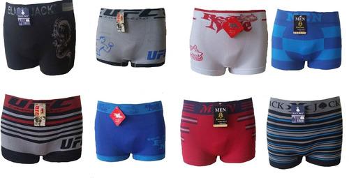 kit com 20 cuecas boxer e 20 pares de meias