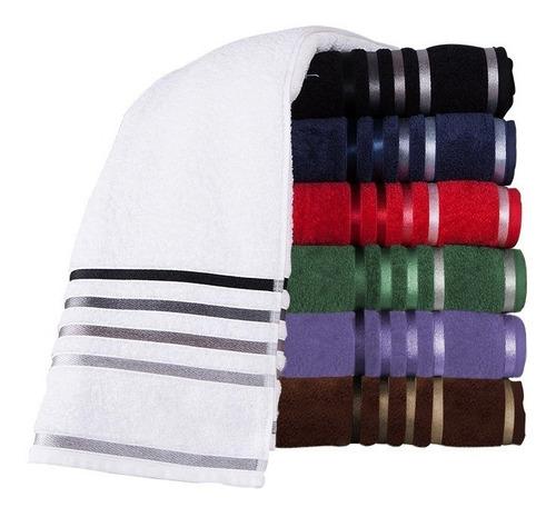 kit com 20 toalhas de rosto monaco jogo de toalha atacado