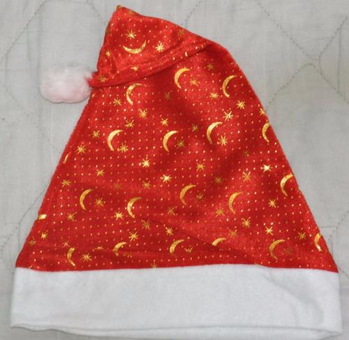 (kit com 20)gorro toca papai noel natal  decorado