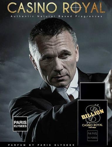 kit com 25 perfumes paris elysees a escolha - billion, vodka