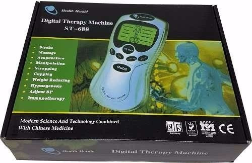 kit com 3 aparelho massagem fisioterapia tratamento choque