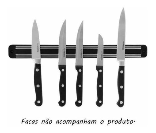 kit com 3 barras magnética imã para facas e ferramentas 50cm