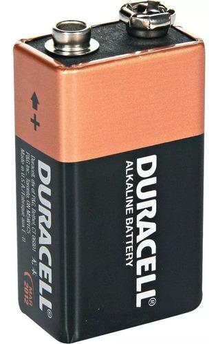 kit com 3 baterias 9v pilha duracell alcalina original combo